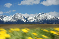 High Tatra during a spring time, Slovakia Royalty Free Stock Image