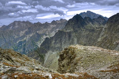 The high Tatras Royalty Free Stock Images