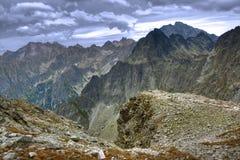 The high Tatras. Beautiful polish Tatra mountains landscape royalty free stock images