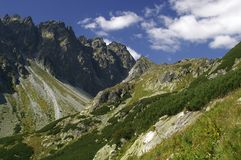 High Tatras. Mountains of High Tatras in Slovakia Stock Images