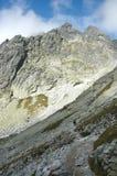 High Tatras. View on High Tatras mountains, slovakia Royalty Free Stock Photos