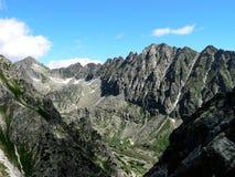 The High Tatras. In Slovakia royalty free stock photos
