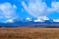 High Tatras. Beautiful mountains in Slovakia stock photography