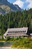 High Tatras Hotel Stock Image