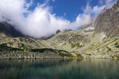 High Tatras - landscape. High Tatras's mountains -Bielanske pleso (mountain lake Stock Image
