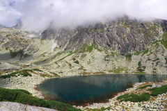High Tatras - landscape. High Tatras's mountains -Bielanske pleso (mountain lake Royalty Free Stock Images