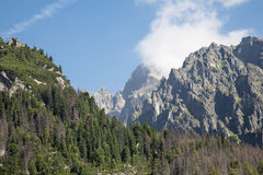 High Tatras - Lomnicky peak Stock Photos