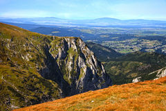 High Tatras Mountain Panorama Royalty Free Stock Photography