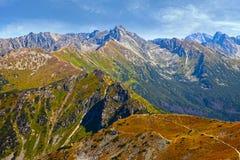 High Tatras Mountain Panorama Stock Photos
