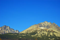 High Tatras Mountains Royalty Free Stock Photo