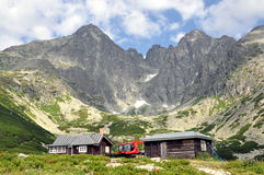 High Tatras mountains and Lomnicky Stit, Slovakia, Europe Stock Photo