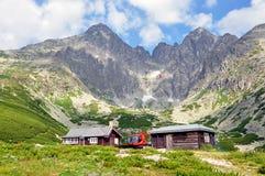 High Tatras mountains and Lomnicky Stit, Slovakia, Europe Royalty Free Stock Photos