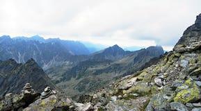 High Tatras mountains panorama Royalty Free Stock Photos