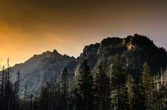 High Tatras. Mountains in Slovakia stock photography