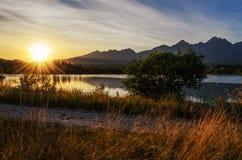 High Tatras. Mountains in Slovakia royalty free stock photos