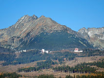 High Tatras mountains in summer Stock Image