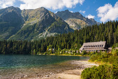High Tatras Mountains Stock Photo