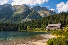 High Tatras Mountains Stock Photo