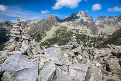 High Tatras from Ostrva, Slovakia Royalty Free Stock Image