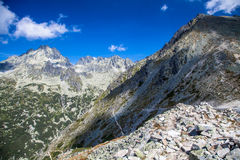 High Tatras from Ostrva, Slovakia Stock Image