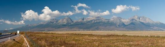 High Tatras panorama stock photography