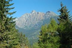 High Tatras, Slovakia. The High Tatras mountains scenery Royalty Free Stock Images