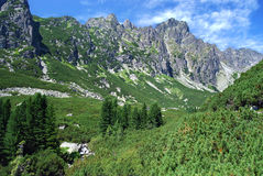 High Tatras in Slovakia stock photo