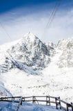 The High Tatras, Slovakia. Cold sunny morning Stock Images