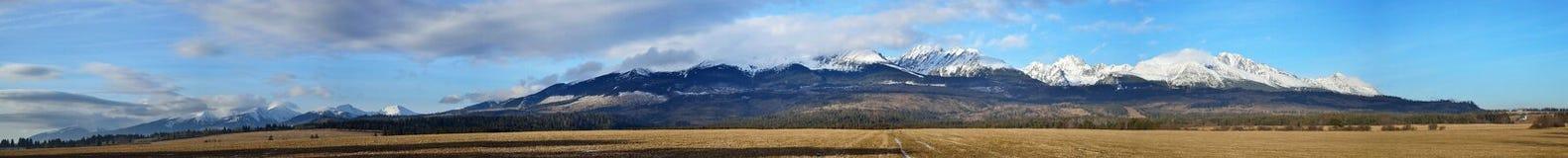 High Tatras. Spring High Tatras panorama in Slovak republic Royalty Free Stock Photography