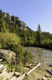 High Tatras. Slovakian mountains in hearth of Europe stock photos