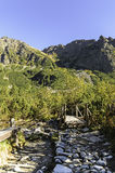 High Tatras. Slovakian mountains in hearth of Europe stock photo