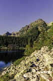 High Tatras. Slovakian mountains in hearth of Europe Royalty Free Stock Photo