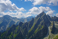 High Tatry. Moutains Lomnicky Stit royalty free stock photography