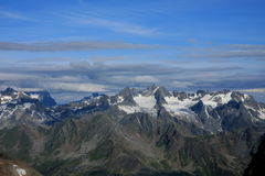The High Tauern Royalty Free Stock Photos
