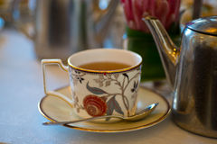 High tea fancy tea cup Stock Image