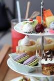 High tea set. Stock Photo