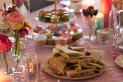 Free High Tea Table . . . Stock Photography - 65995972