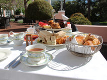 High tea Royalty Free Stock Photos