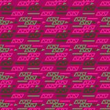 High tec seamless pattern. Authentic design for digital and print media Royalty Free Stock Photography