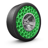 High tech airless wheel Royalty Free Stock Images