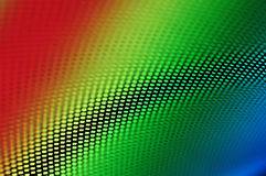 High tech background multicolor and grille Stock Image