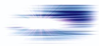 High-tech blauwe achtergrond met heldere gradiënt en onduidelijk beeldgevolgen vector illustratie