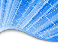 High-tech blue background template Royalty Free Stock Image