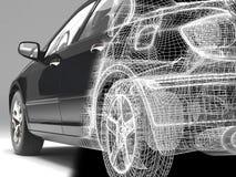 High-tech car royalty free stock photo