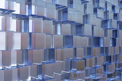 High tech cube Royalty Free Stock Image