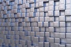 High tech cube Stock Images