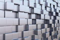 High tech cube Royalty Free Stock Photo