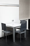 High-tech dining table Stock Photography