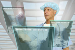 High-tech doctor Royalty Free Stock Photography