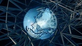 High Tech Earth stock video